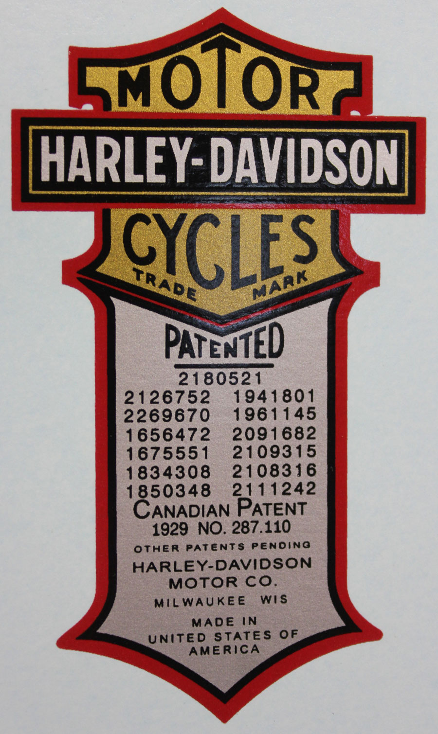 patent stickers With kitchen cabinets lowes with harley davidson tank stickers